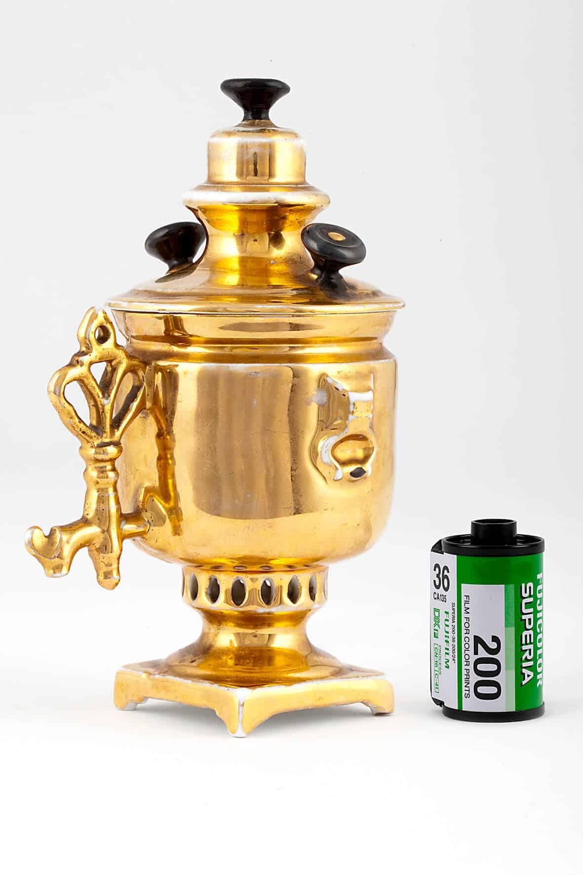 КБ 380 | Чашка сувенирная «Самовар» | Музей самоваров и бульоток
