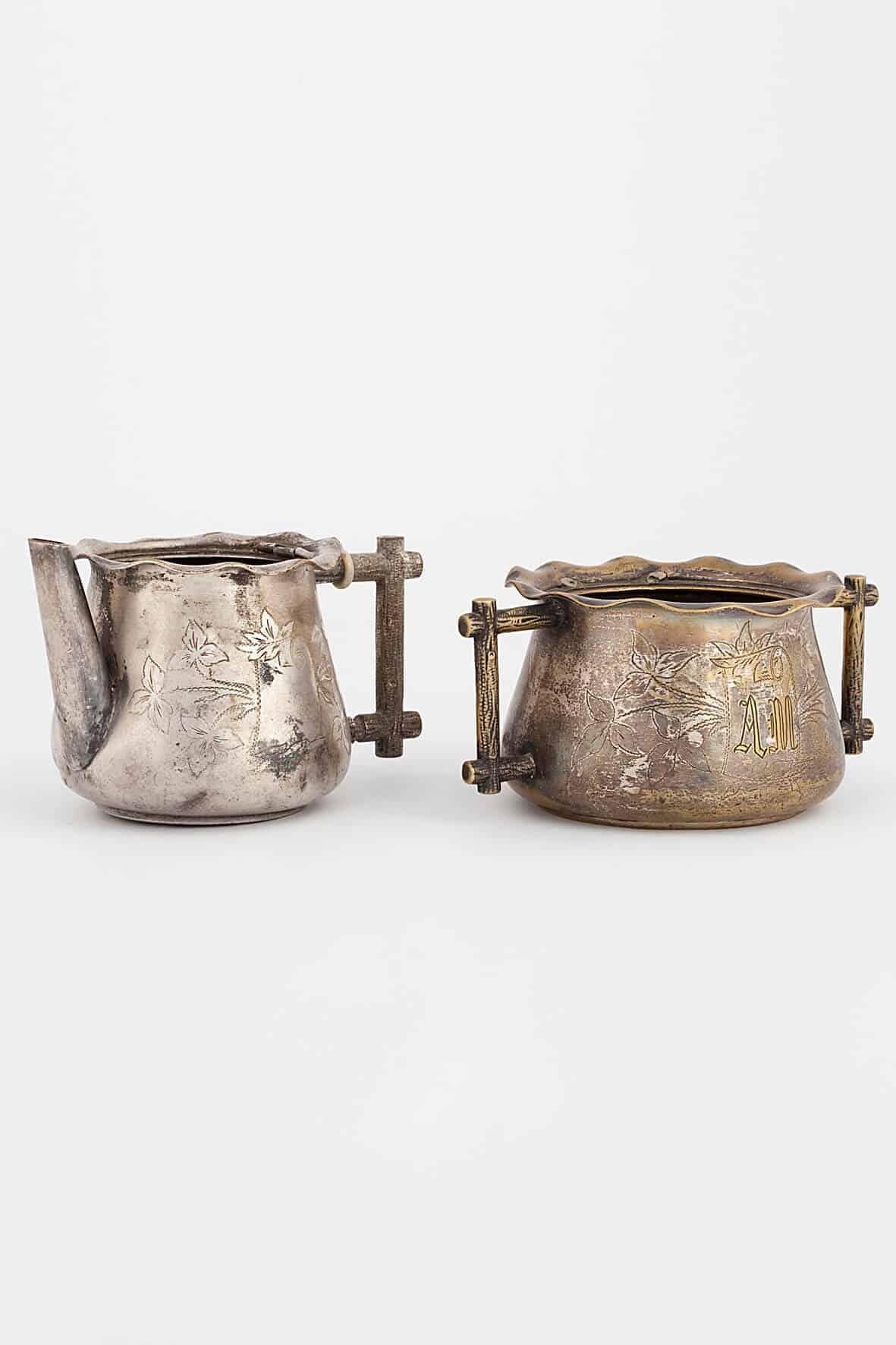 КБ 398-399 | Сервиз из сахарницы и чайника заварочного | Музей самоваров и бульоток