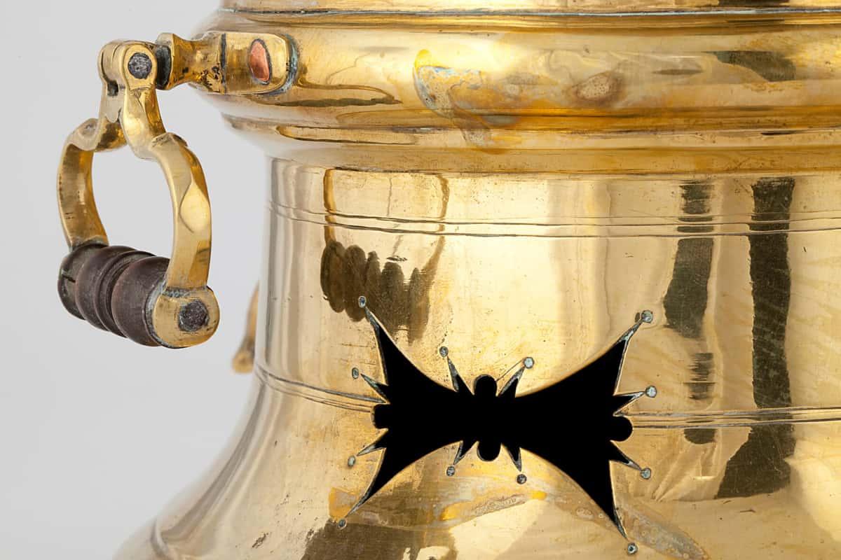 КБ 418 | Самовар-кофейник с выдвижным ящиком | Музей самоваров и бульоток