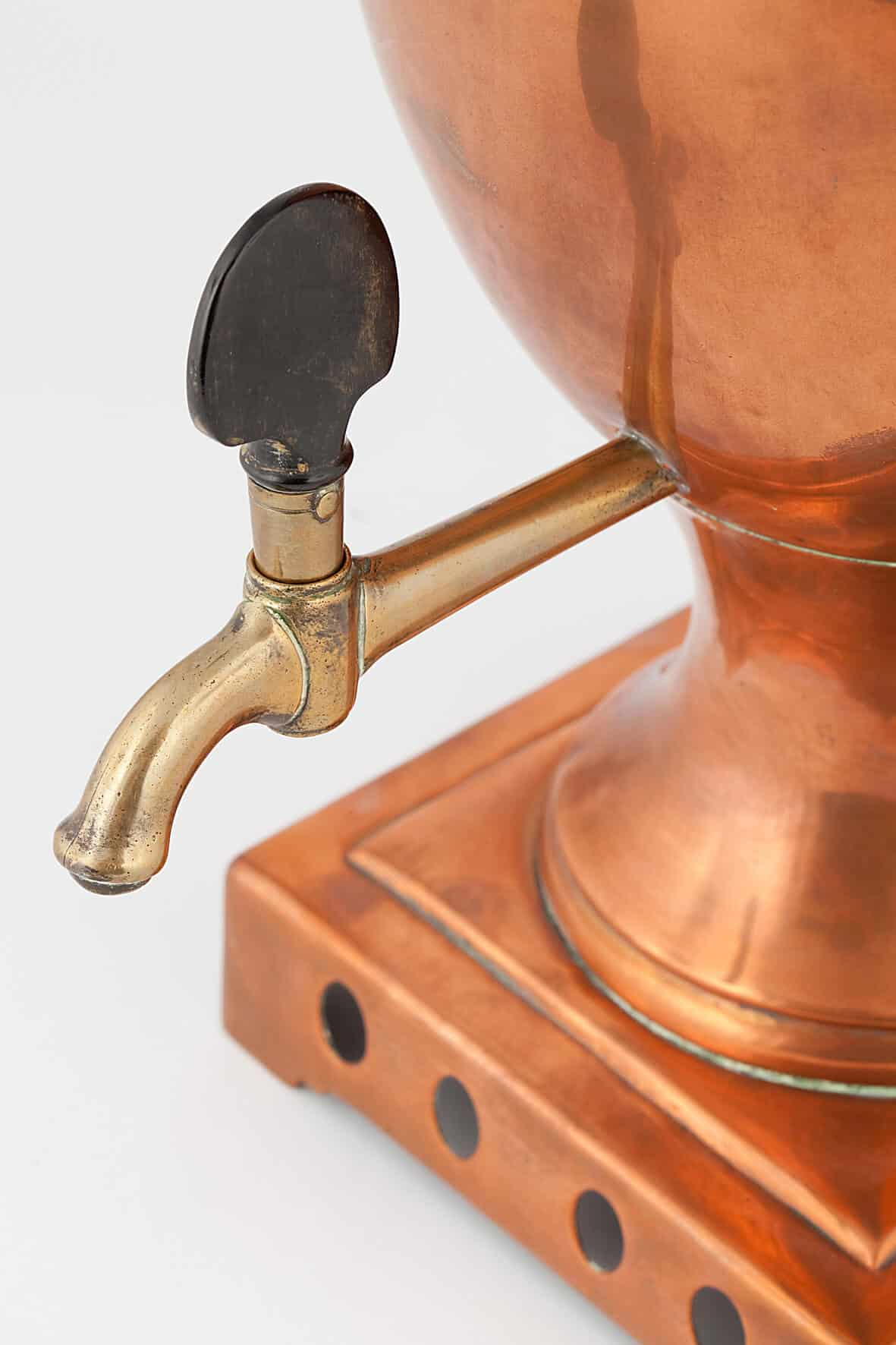 КБ 419 | Самовар-ваза в классическом стиле | Музей самоваров и бульоток