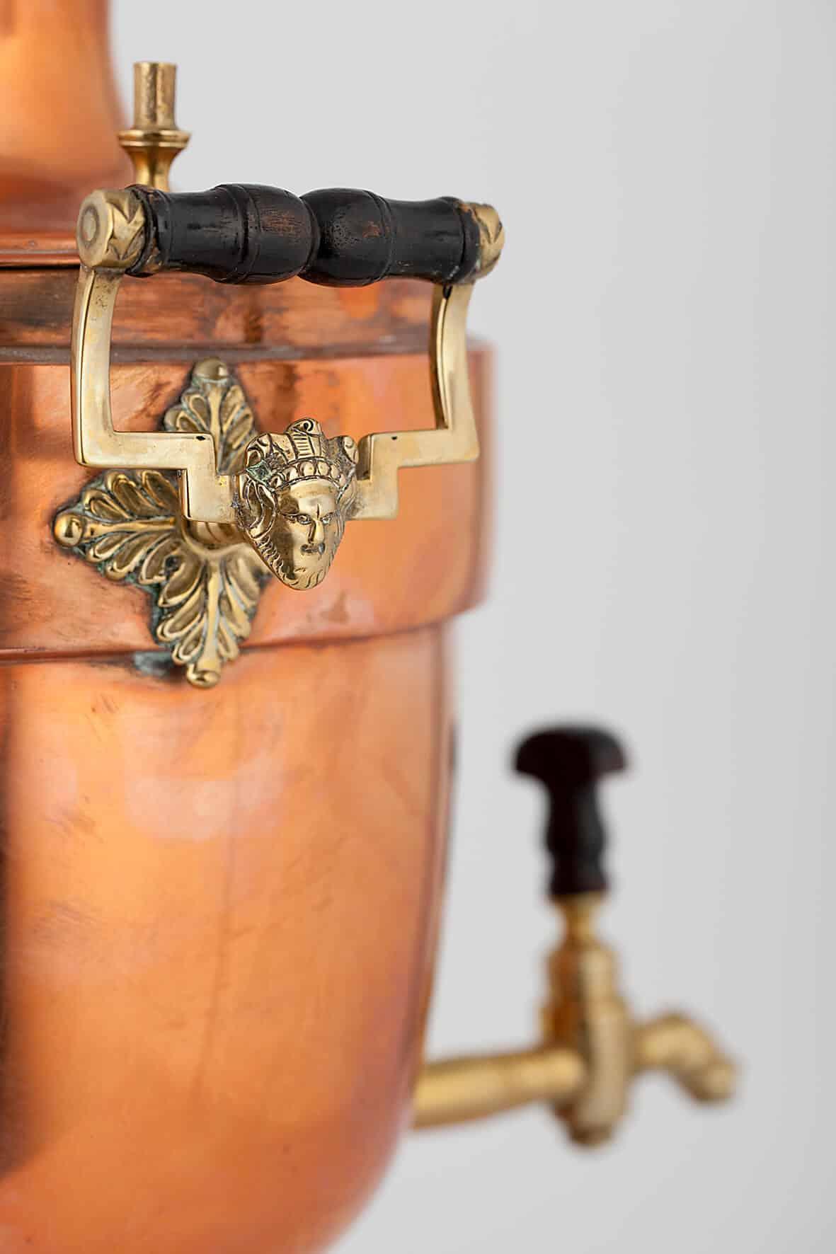 КБ 420 | Самовар-ваза «Ампир» | Музей самоваров и бульоток