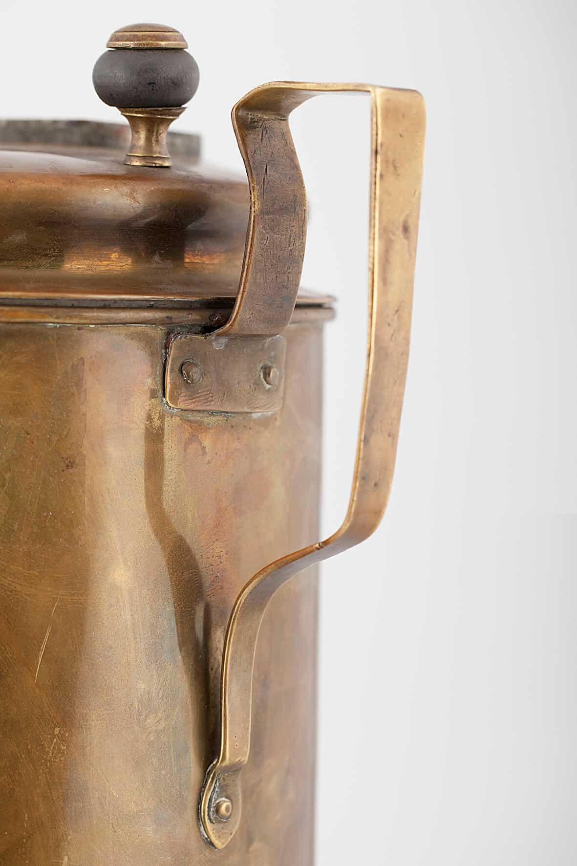 КБ 421 | Самовар-кофейник с рамой для мешочка | Музей самоваров и бульоток