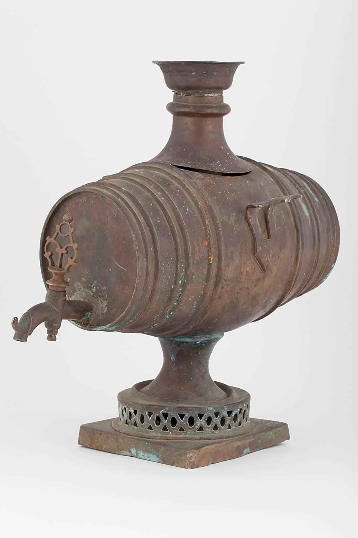 КБ 424 | Самовар – «Бочонок» | Музей самоваров и бульоток