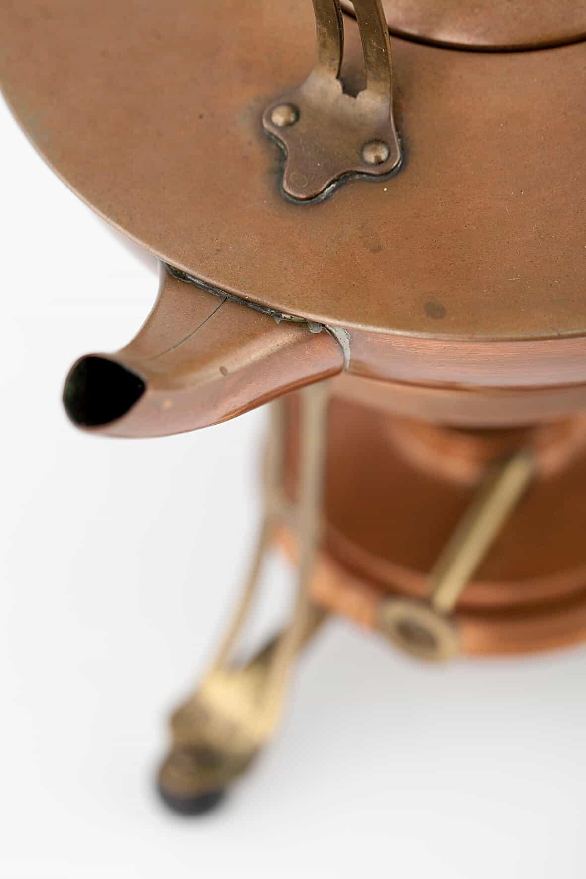 КБ 449 | Бульотка на круглой подставке | Музей самоваров и бульоток