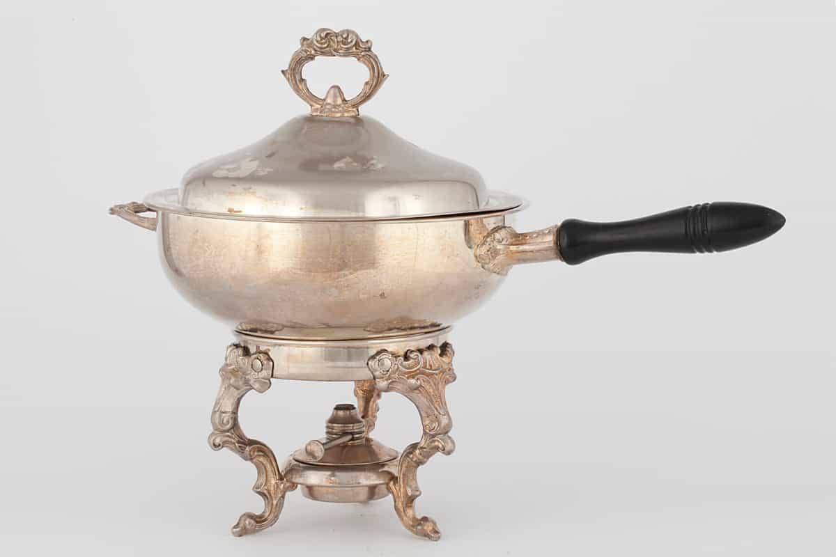 КБ 452 | Бульотка для подогрева блюд | Музей самоваров и бульоток