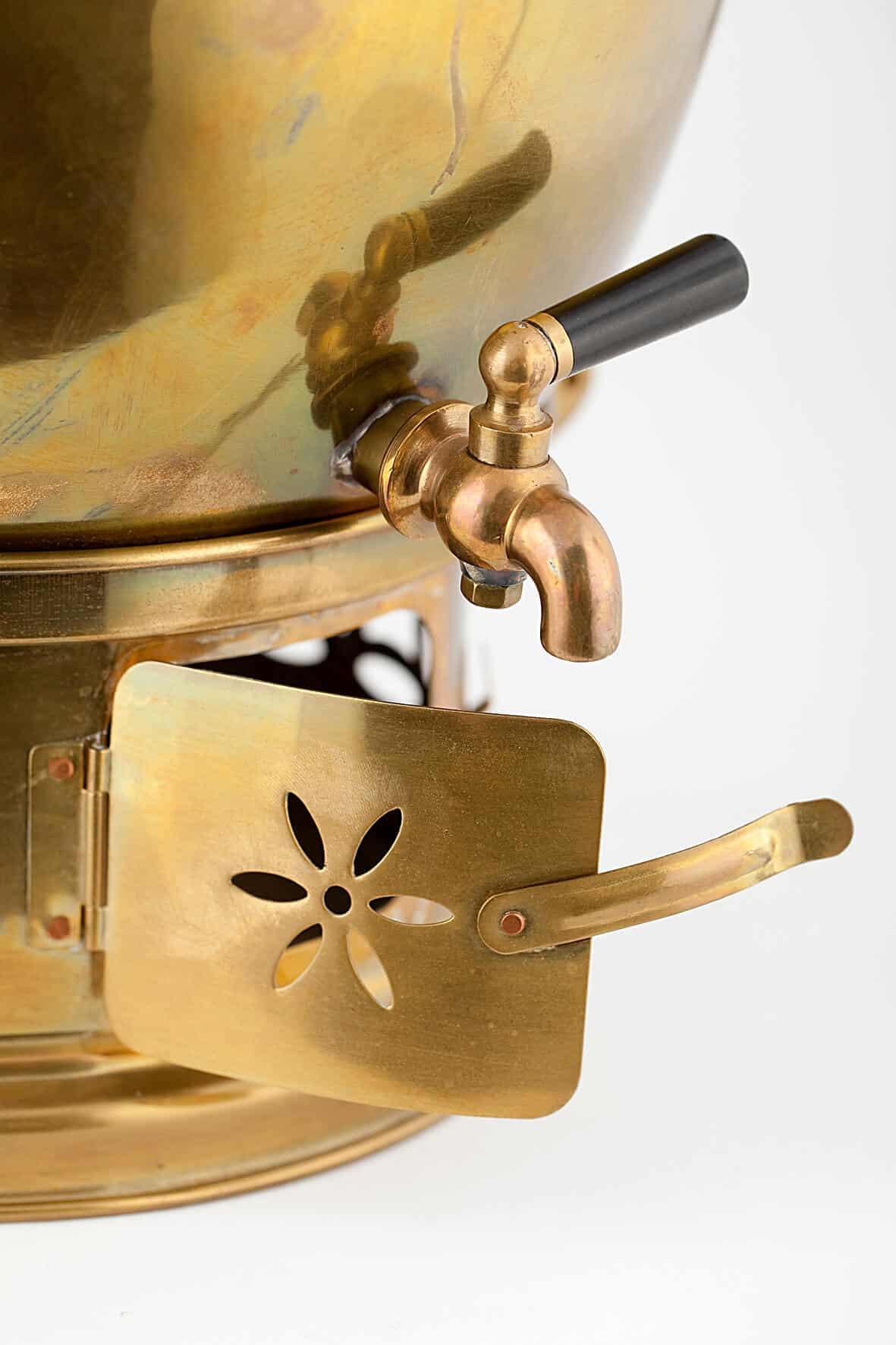 КБ 454 | Бачок для кипячения воды с жаровней | Музей самоваров и бульоток