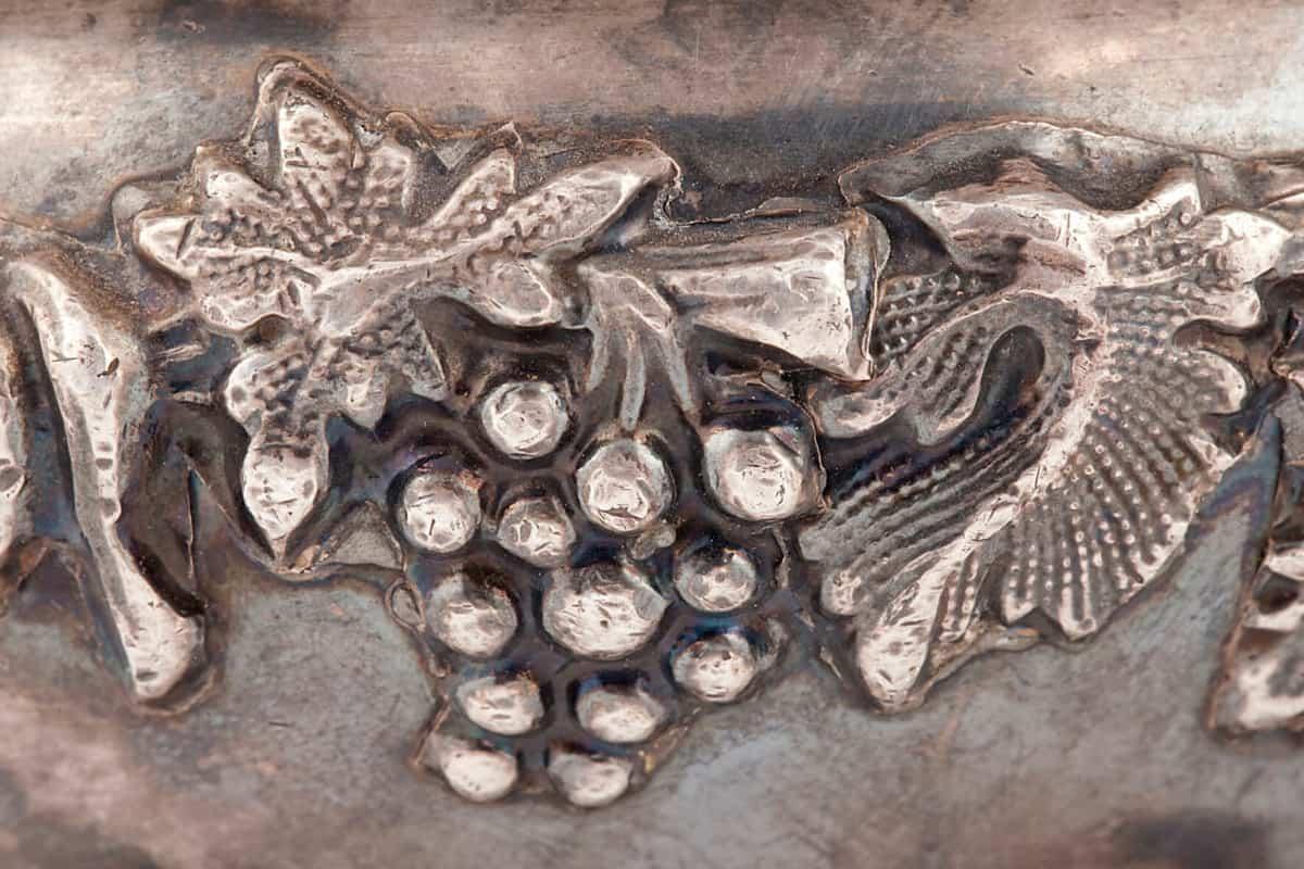 КБ 495 | Сахарница с растительным орнаментом | Музей самоваров и бульоток