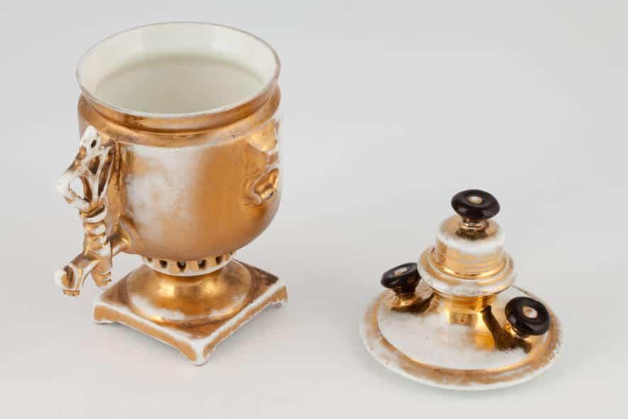 КБ 537 | Чашка сувенирная «Самовар» | Музей самоваров и бульоток