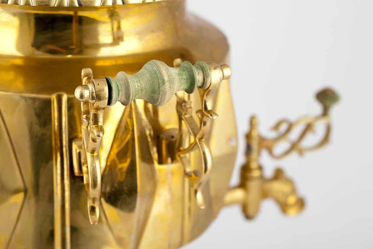 КБ 317 | Самовар-ваза «С ромбами» | Музей самоваров и бульоток