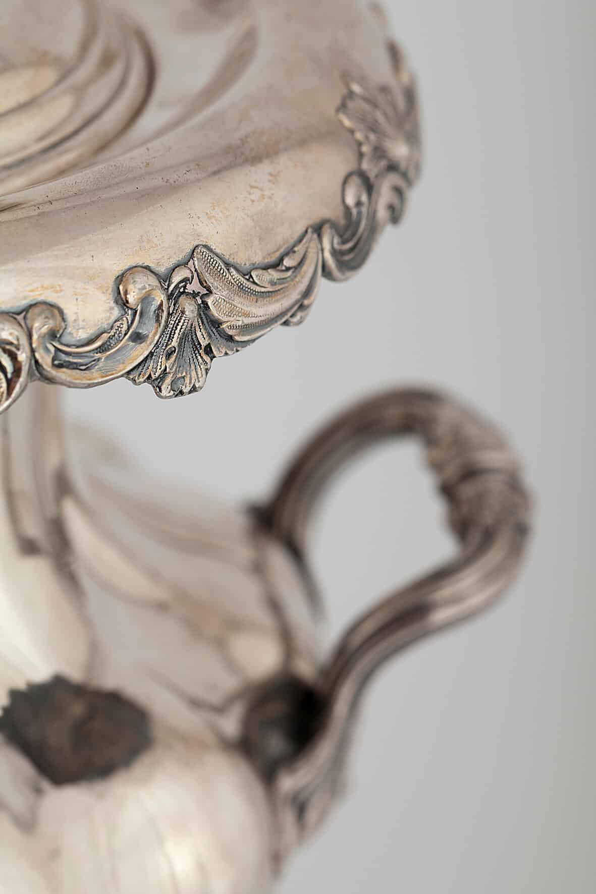 КБ 396 | Самовар-ваза c цветочным бордюром | Музей самоваров и бульоток