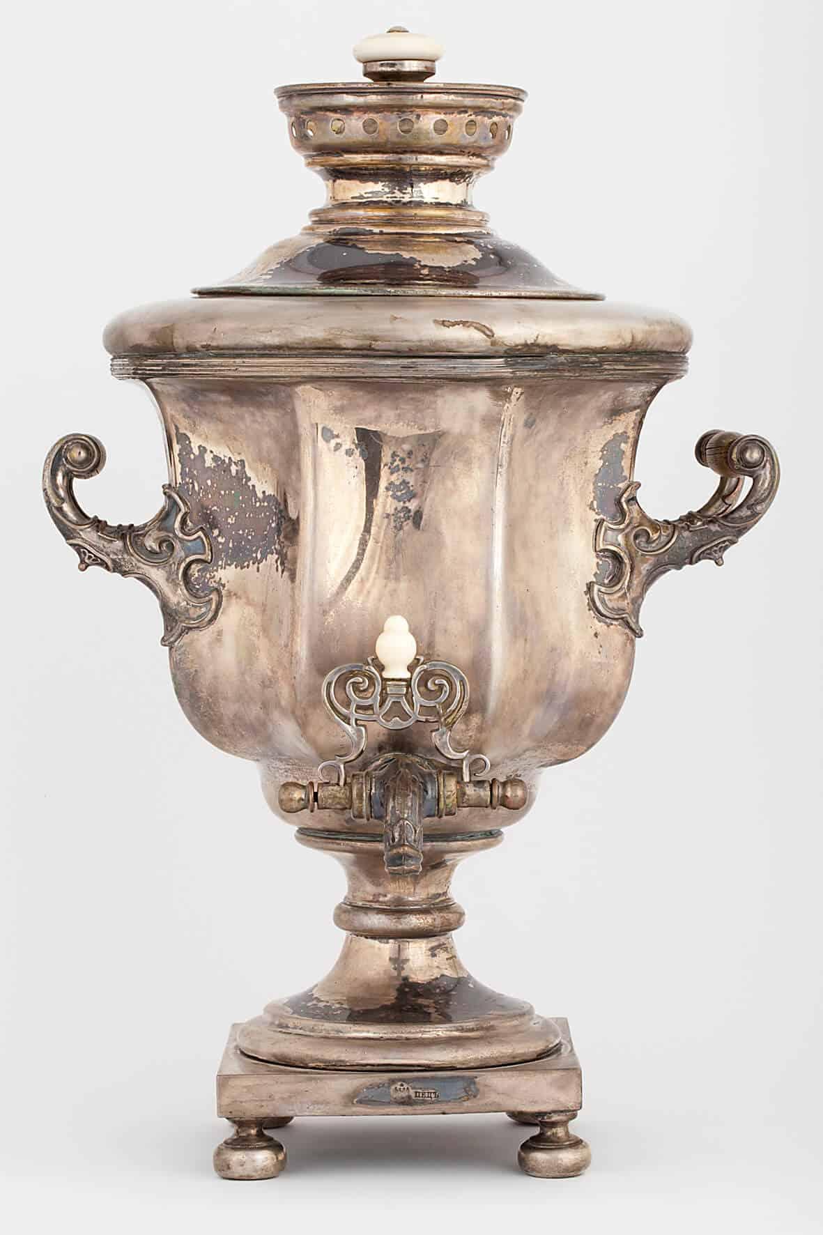 КБ 401   Самовар-ваза «Кубок гранный»   Музей самоваров и бульоток