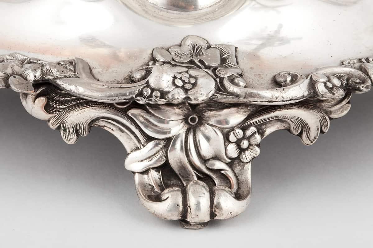 КБ 403 | Самовар-ваза «С цветочным бордюром» | Музей самоваров и бульоток