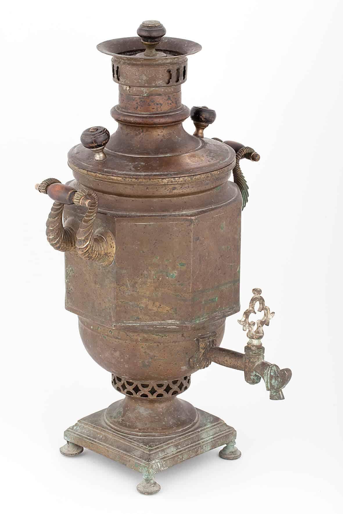 КБ 404   Самовар-ваза «Египетская»   Музей самоваров и бульоток