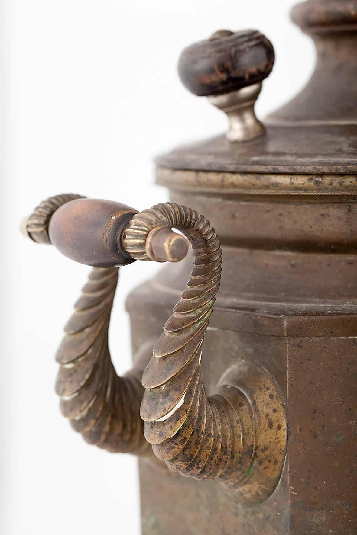 КБ 404 | Самовар-ваза «Египетская» | Музей самоваров и бульоток