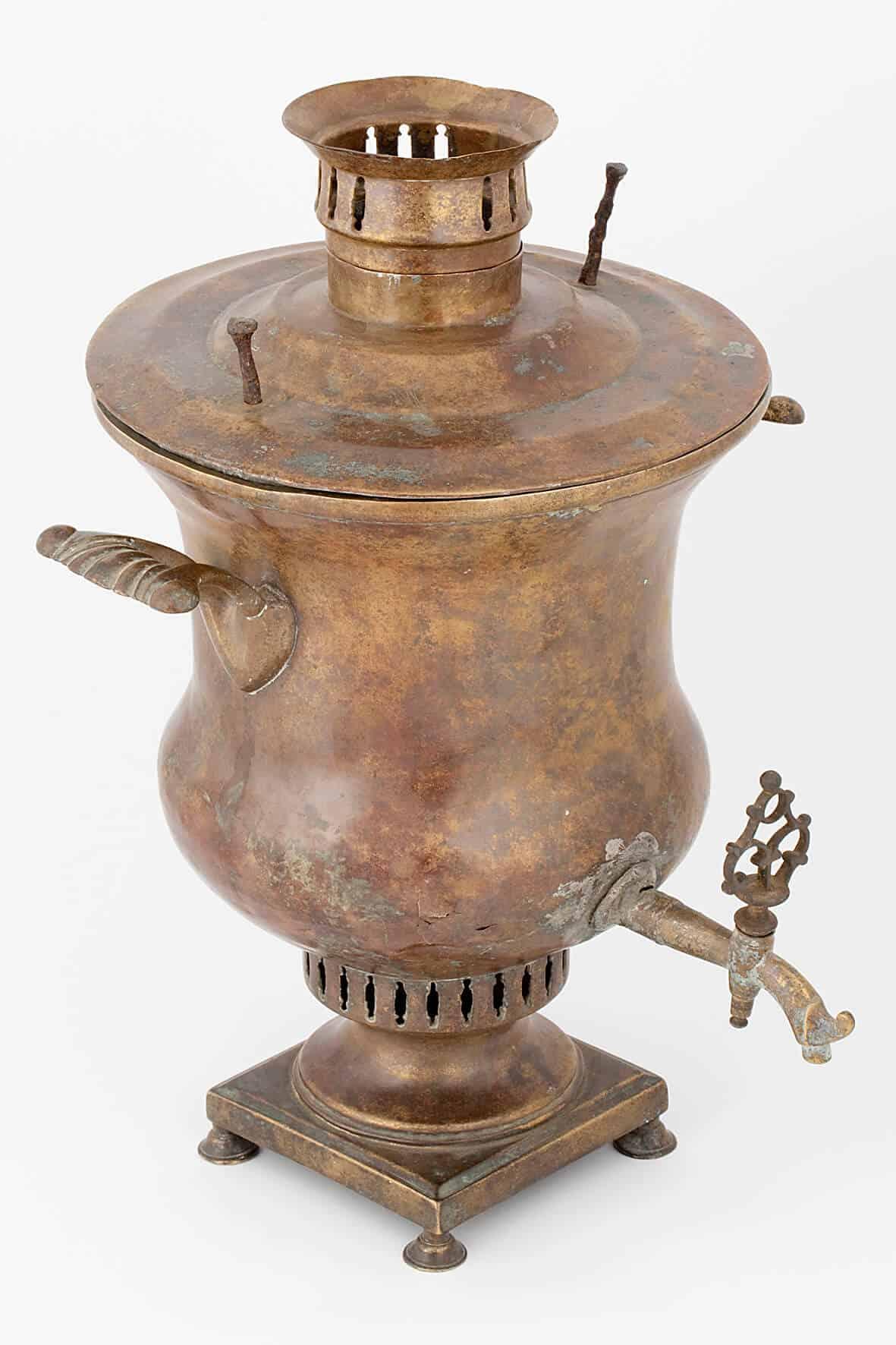 КБ 407 | Самовар-ваза гладкая | Музей самоваров и бульоток