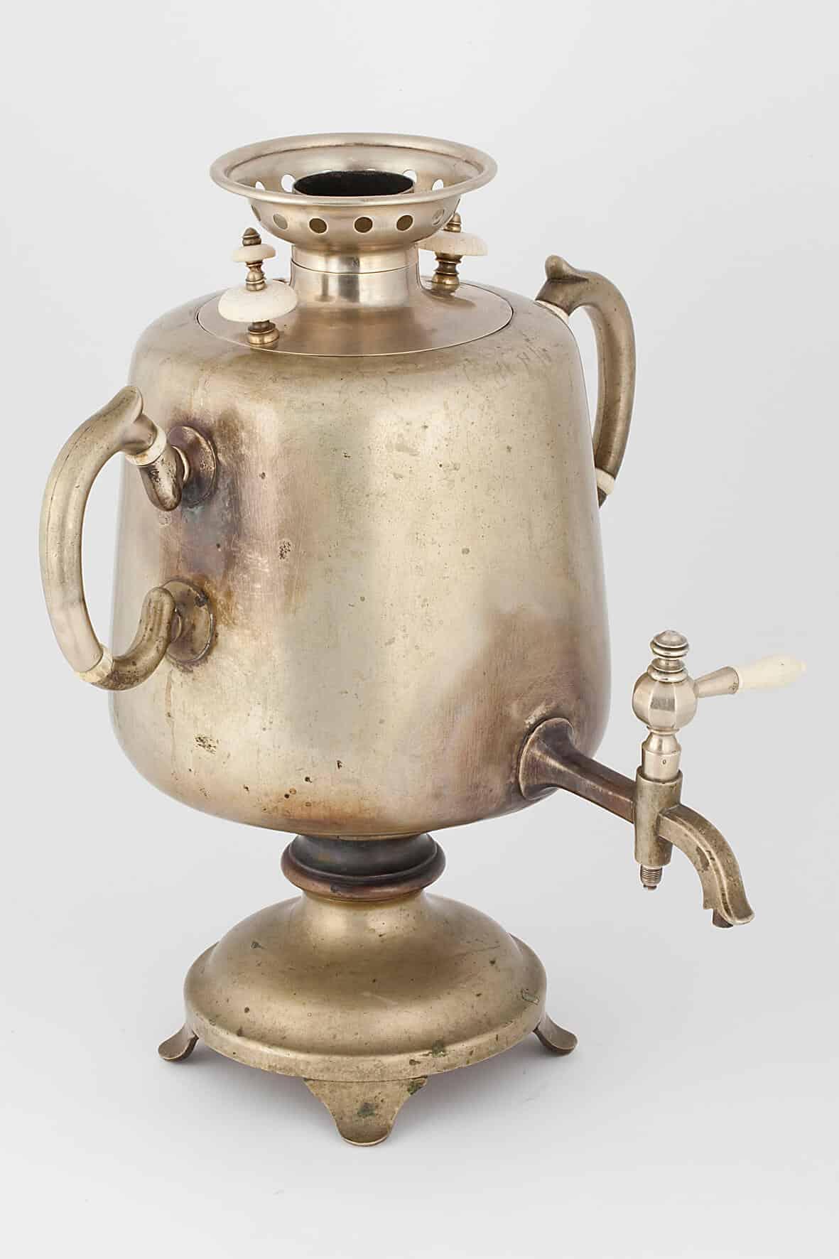 КБ 457 | Самовар-ваза с вертикальными ручками | Музей самоваров и бульоток