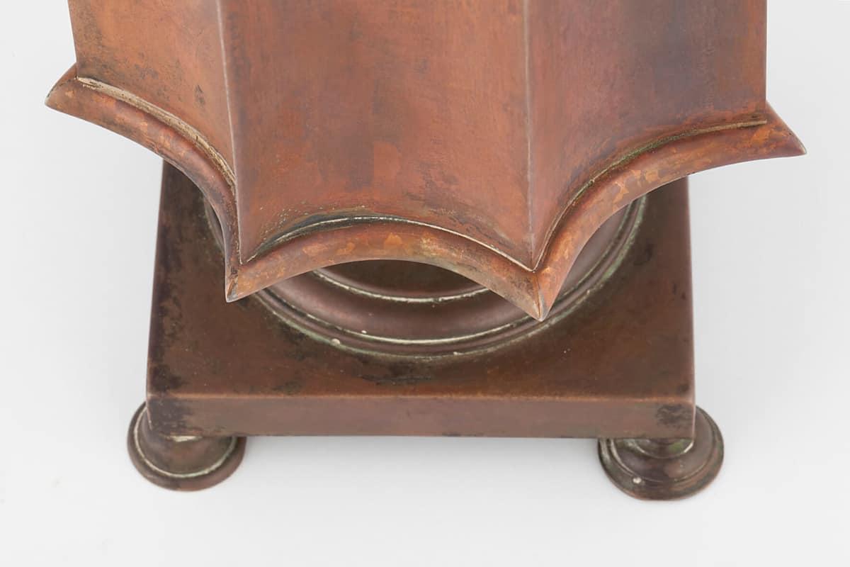 КБ 460 | Самовар-эгоист «Колонка гранная» | Музей самоваров и бульоток