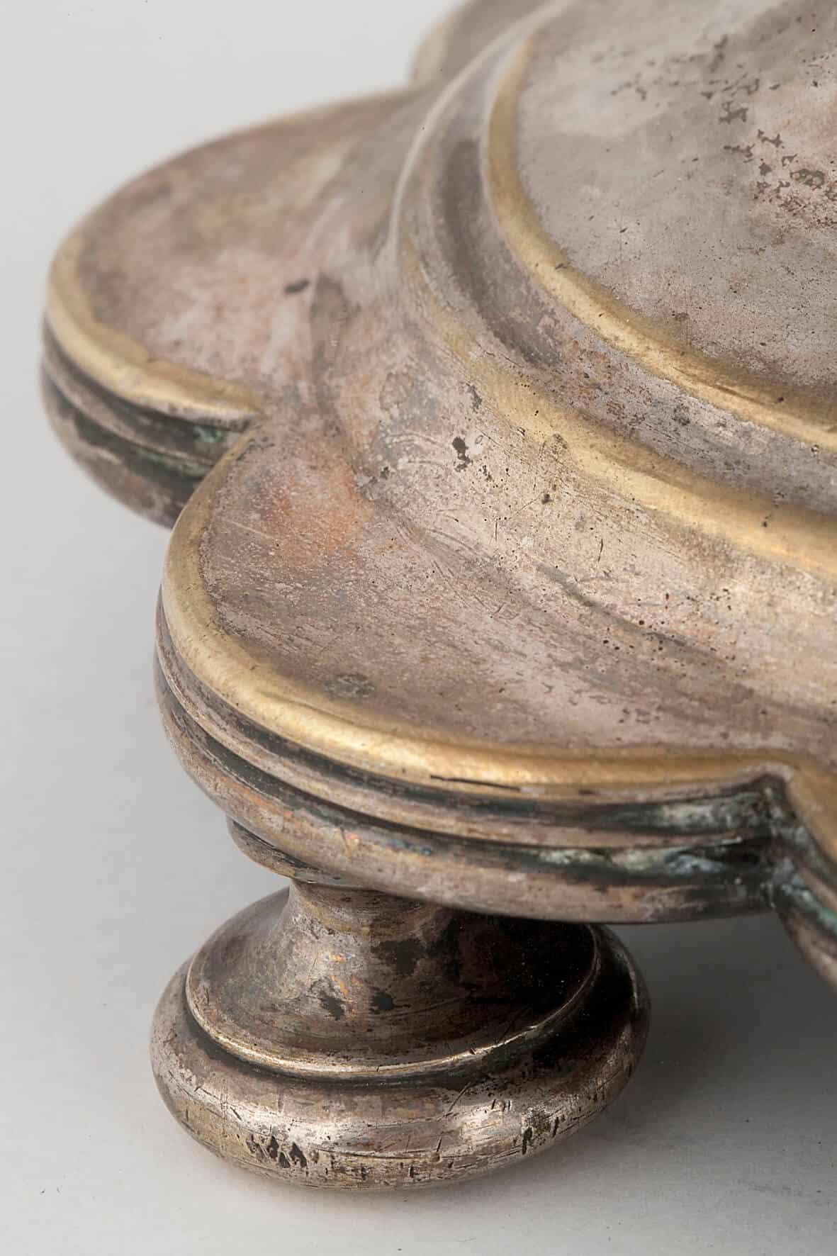 КБ 475 | Самовар-ваза «Гранная» на фигурном поддоне | Музей самоваров и бульоток
