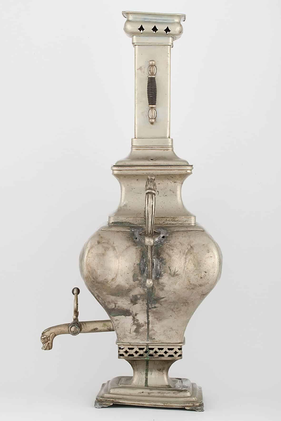КБ 476   Самовар-ваза «Прямоугольная»   Музей самоваров и бульоток