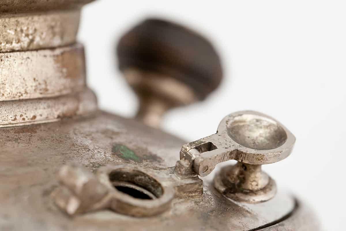 КБ 481 | Самовар яйцевидный «С овалами» | Музей самоваров и бульоток