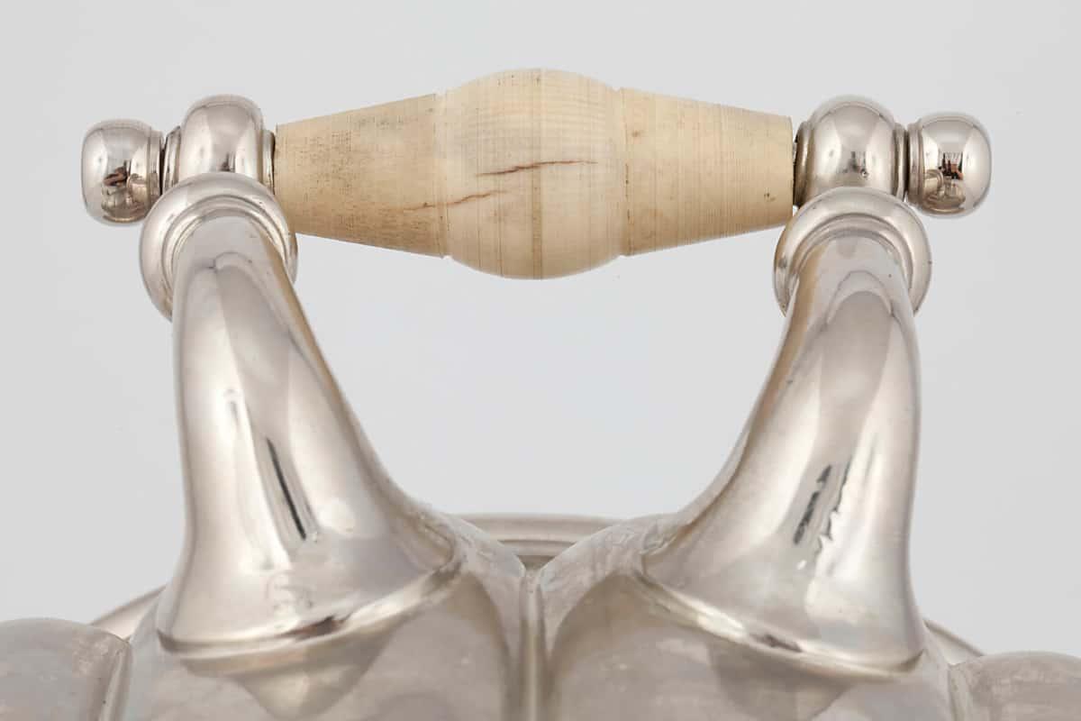 КБ 482 | Самовар-ваза с овалами | Музей самоваров и бульоток