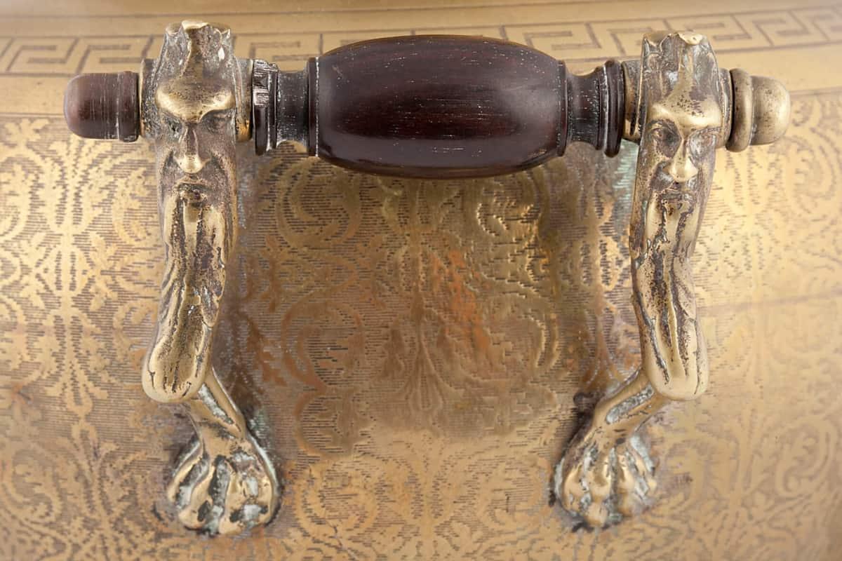 КБ 484 | Самовар-ваза с фигурными ножками | Музей самоваров и бульоток