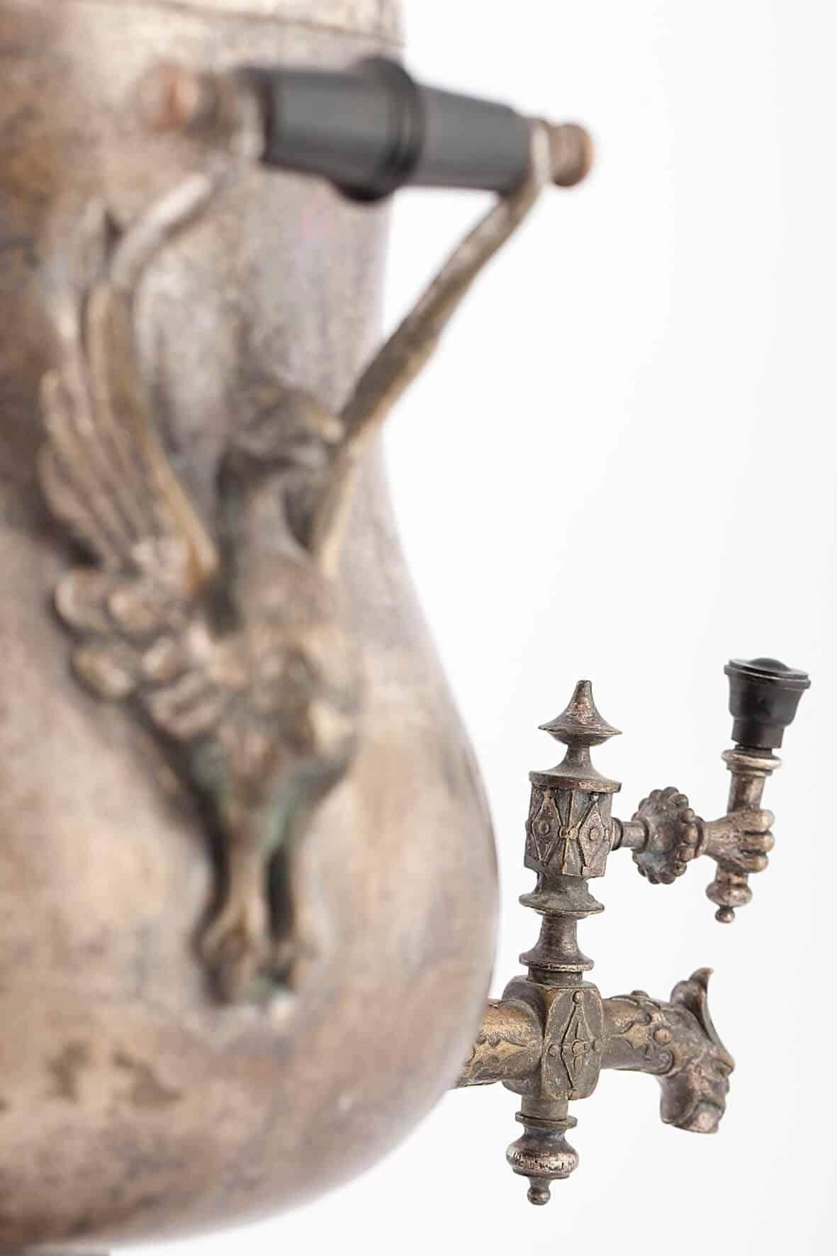 КБ 485   Самовар грушевидный «Орел»   Музей самоваров и бульоток