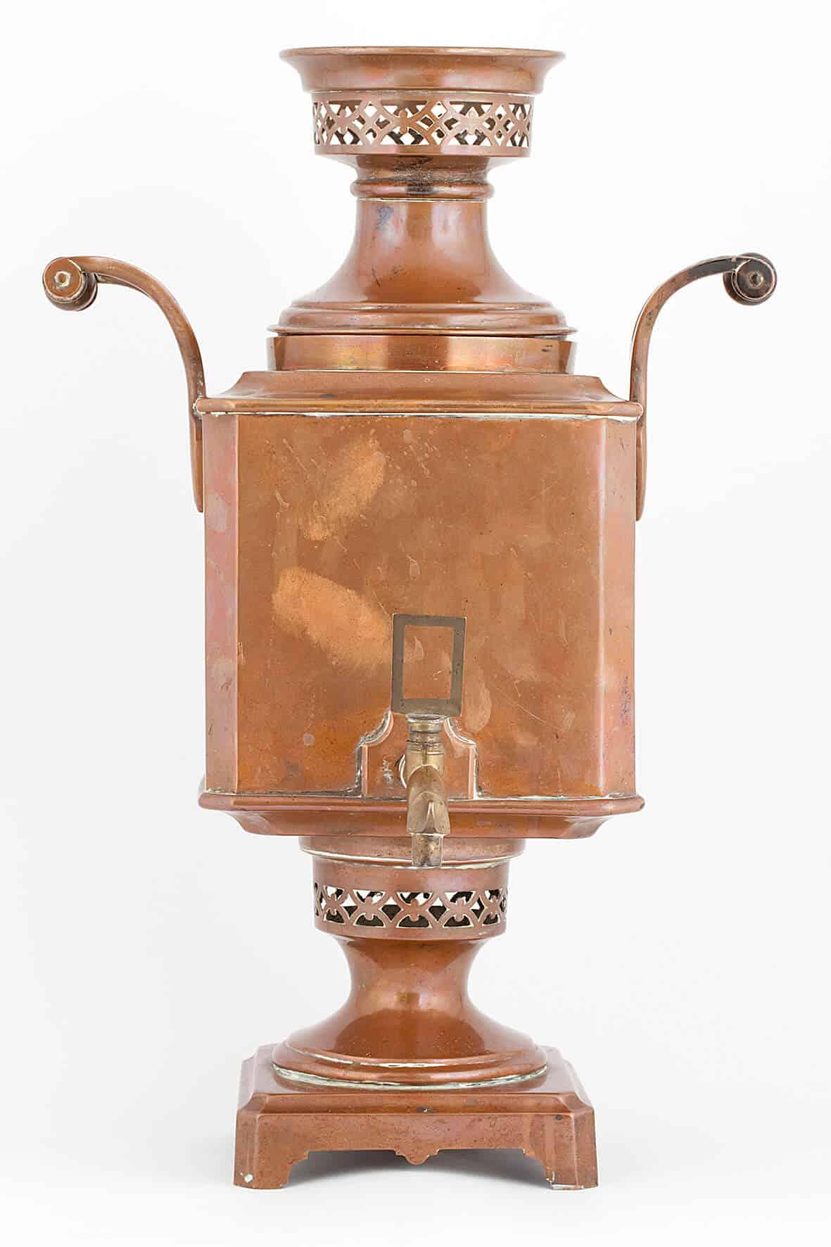 КБ 488 | Самовар–ваза «Прямоугольная» | Музей самоваров и бульоток
