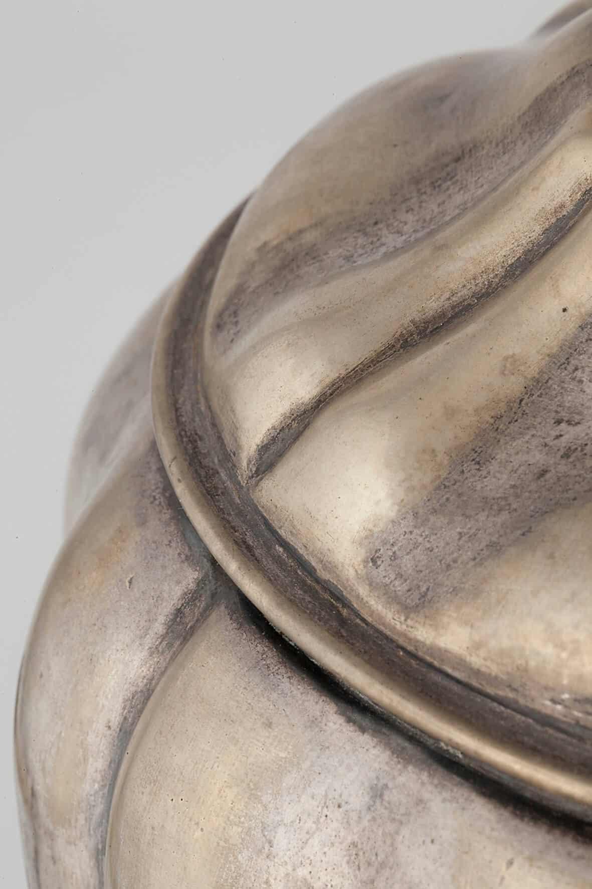 КБ 496 | Самовар - дуля на фигурном поддоне | Музей самоваров и бульоток