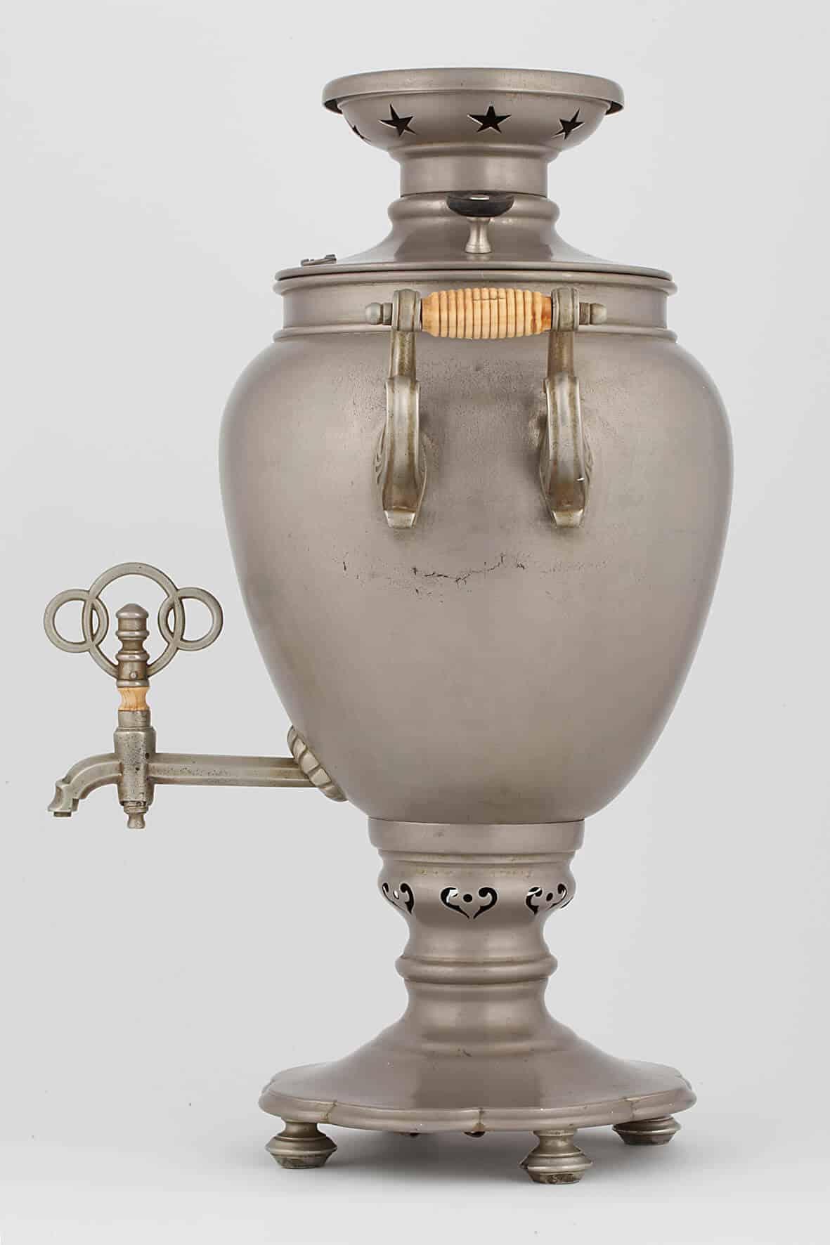 КБ 509 | Самовар яйцевидный | Музей самоваров и бульоток