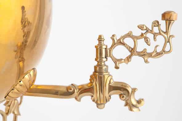 КБ 521 | Самовар-шар «Паук» | Музей самоваров и бульоток