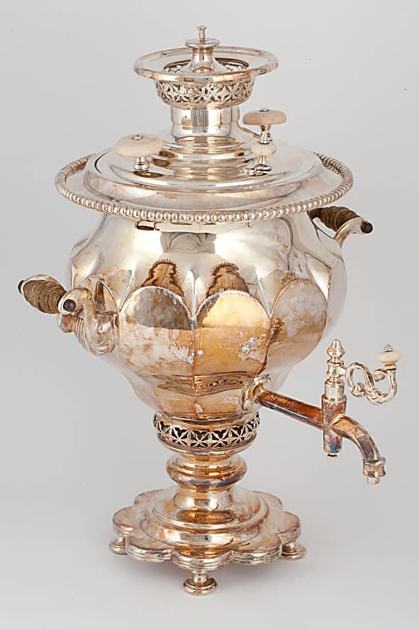 КБ 527 | Самовар-ваза «Цветок» | Музей самоваров и бульоток