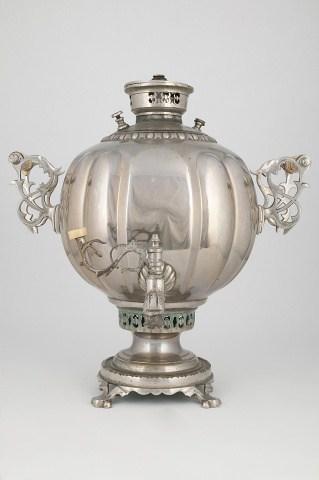"KB 5 Ball samovar ""with ovals"" | Museum of Samovars"