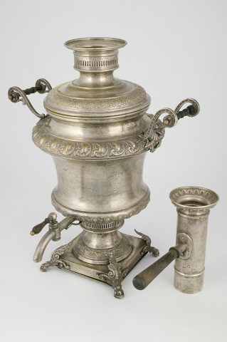 КБ 57 | Самовар-ваза с чеканным декором