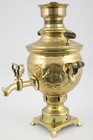 КБ 89   Самовар-ваза сувенирный
