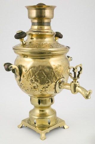 КБ 89 | Самовар-ваза сувенирный
