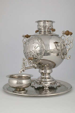 "Samovar ""Blizzard"" with set 