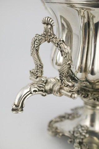 KB-126-127 Samovar-vase with a tray | Museum of Samovars