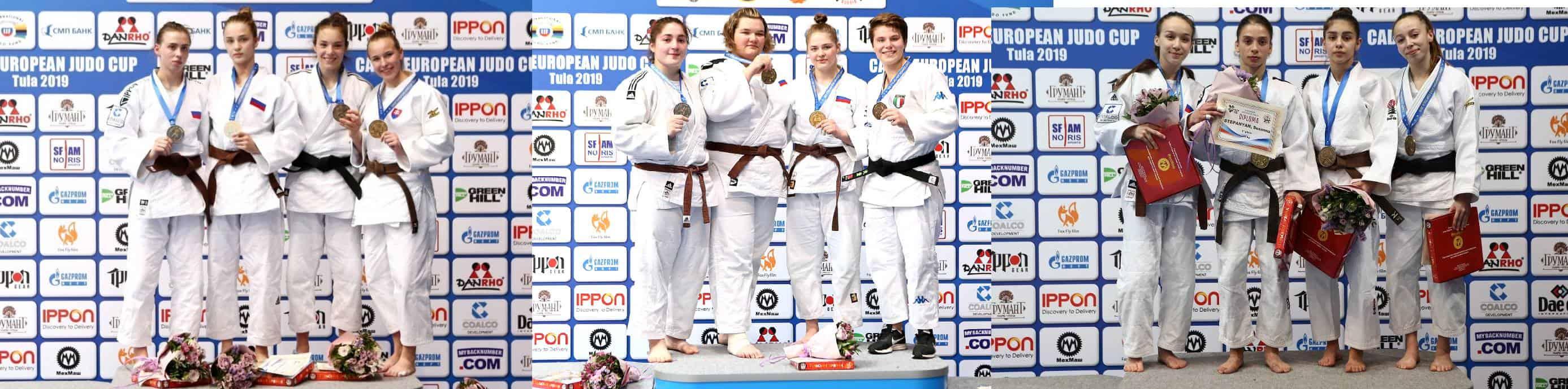Чемпионки и призеры Кубка Европы по дзюдо среди юниоров