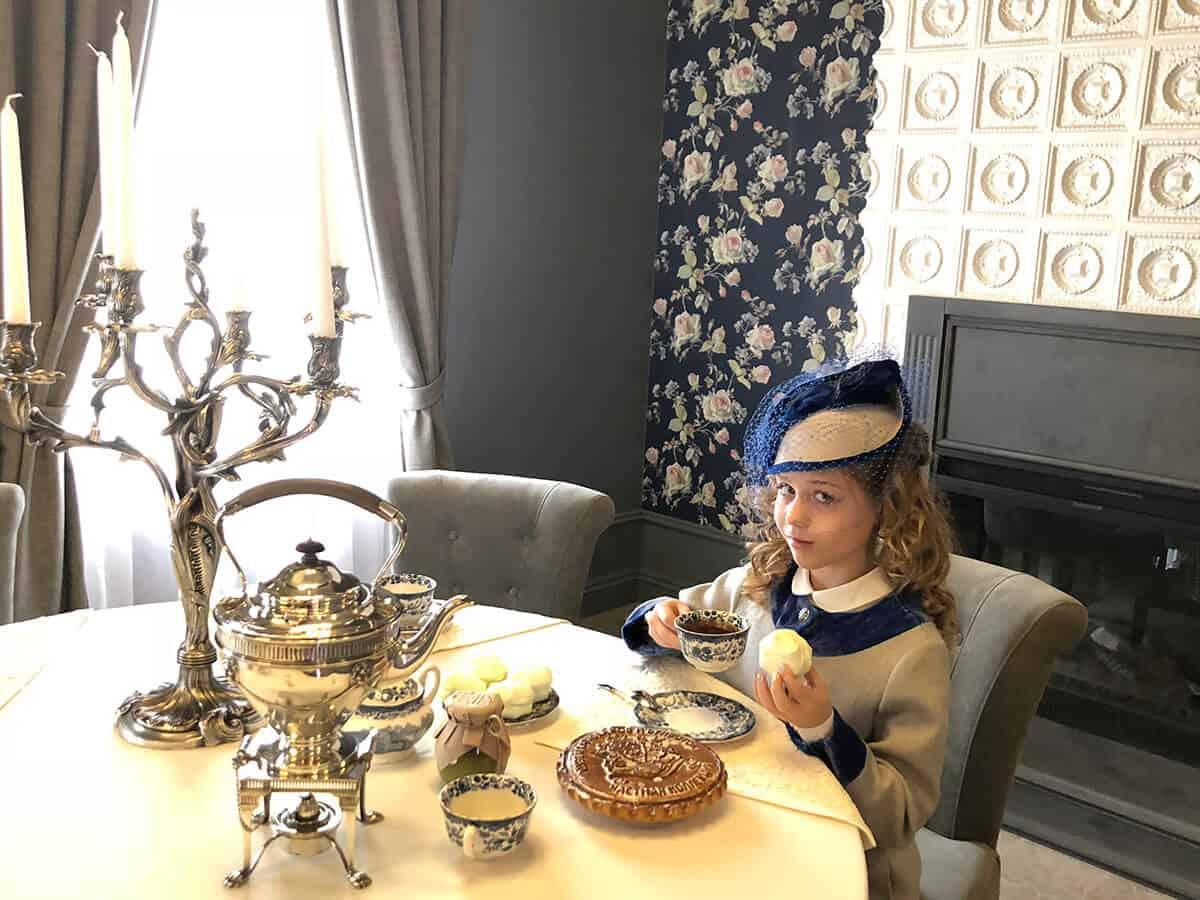 Чай в дворянской столовой