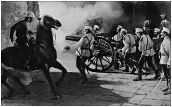Русские штурмуют Пекин в ночь на 1 августа 1900 г.