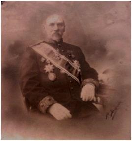 Статский советник Я.Н. Наумов, в семье которого хранился самовар с портретом Н.П.Линевича