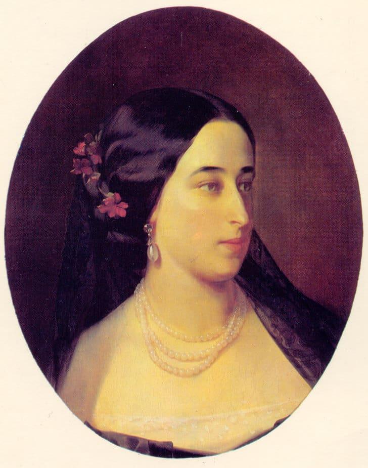 Мария Александровна Гартунг (Пушкина) (1832-1919)