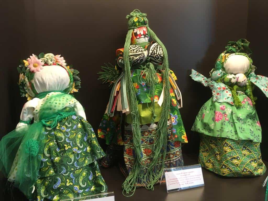 Куклы «Русалки» Тульской и Калужской губерний. Автор – народный мастер РФ Ирина Агаева