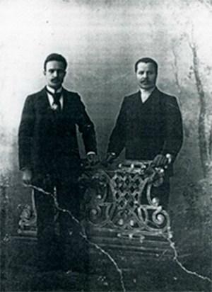 Александр и Николай Шемарины, 1900-е гг
