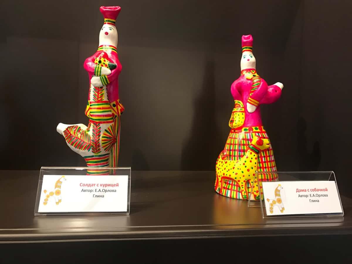 В Музее самоваров и бульоток выставка «Филимоновская сказка» из фондов музея филимоновской игрушки