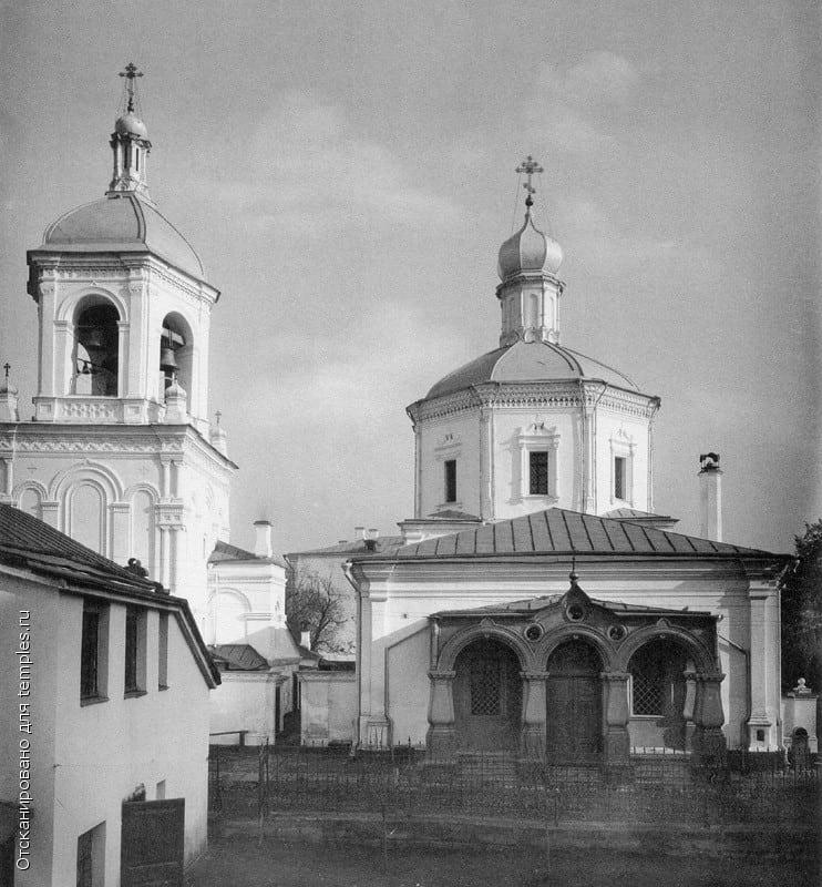 Храм Николы Чудотворца в Гнездниках. Фото 1881 г.