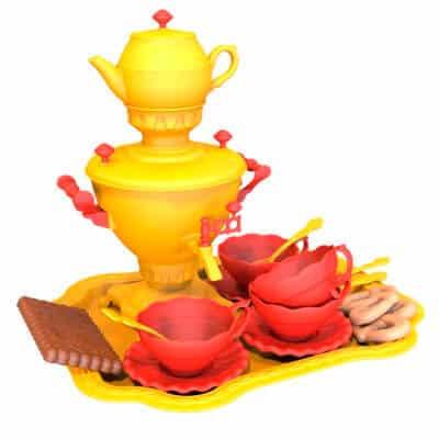 Toy - Samovar with a set