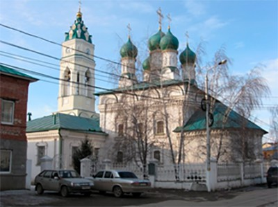 Благовещенская церковь «московского типа». Фото нач. XXI в.