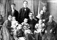 Семья И.Ф. Капырзина. Фото нач. ХХ в.